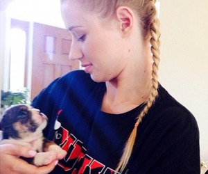 puppy and iggy azalea image