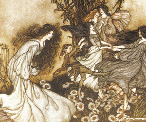 art, arthur rackham, and fairy image