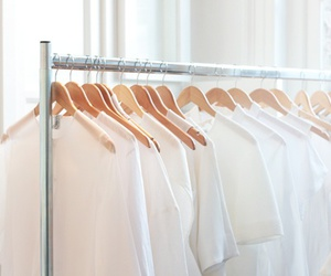 white and clothes image