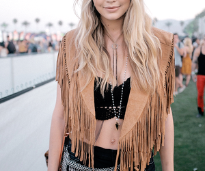 gigi hadid, coachella, and model image