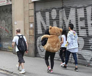 bear, couple, and funny image