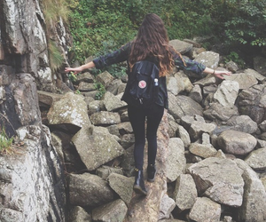 girl, adventure, and grunge image