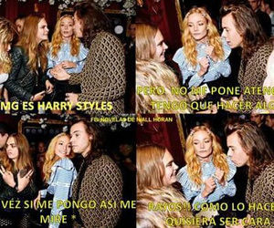 Harry Styles, one direction, and cara image