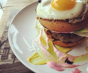 brunch, burger, and eggs image