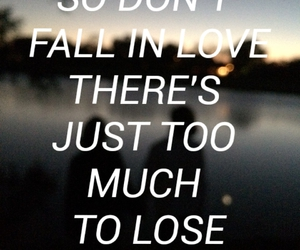 love, fall in love, and lose image