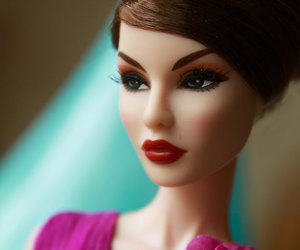 barbie, pink, and toy image