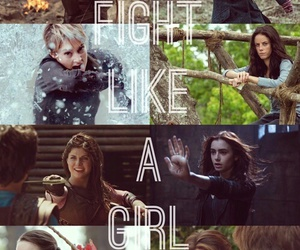 fight, hermione granger, and tris image