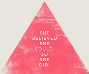 believe and pink image