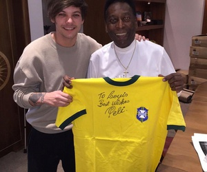 louis tomlinson, one direction, and Pele image