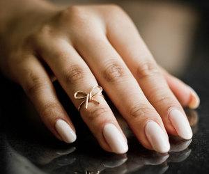 bow, fashion, and nails image