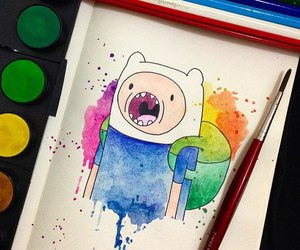 art, sketch, and adventure time image