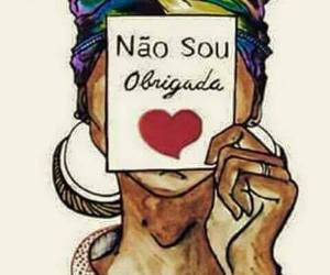 brasil, mulher, and texto image