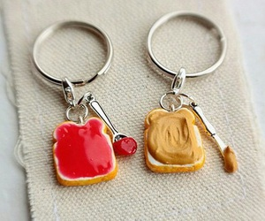 peanut butter, jam, and food image