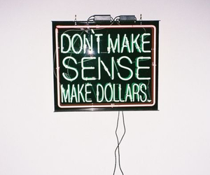 dollar, money, and quotes image