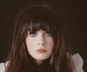 zooey deschanel and eyes image