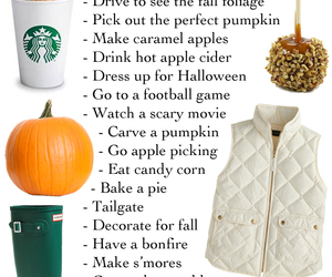 fall, football, and pumpkin image