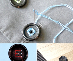 buttons, typography, and craft image