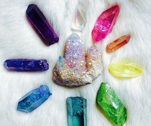 crystal, colors, and stone image