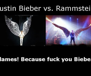 rammstein, wings, and \m image