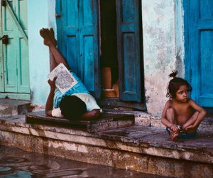 children, earth, and india image