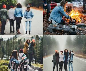 autumn, squad, and life goals image