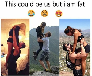 couple, lol, and fat image