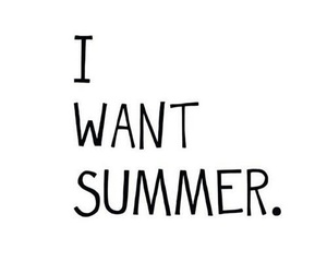 summer, quote, and want image