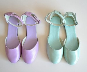 beautiful, pastel, and shoes image