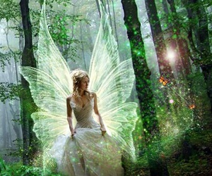 angel, fairy, and magical image