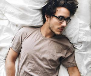 boy, glasses, and guys image