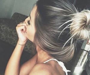 tumblr, ombre hair, and hai4 goals image