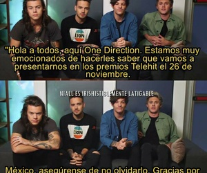one direction, mexico, and premios telehit image