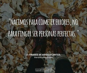 no one is perfect, wattpad, and ✌ image