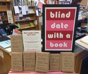 blind, book, and reader image