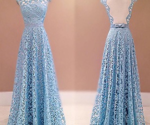 dress, pretty, and prom dress image