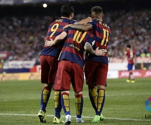 Barcelona, in the world, and best trio image