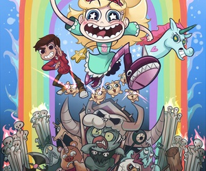 star butterfly and marco diaz image