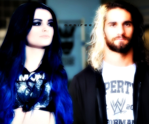 paige, rollins, and seth image