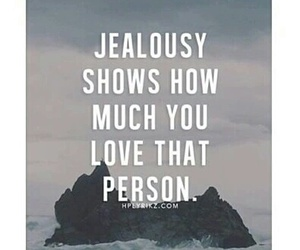 love, jealousy, and quotes image