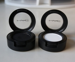 mac, makeup, and black image