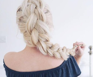hairstyle, braid, and style image