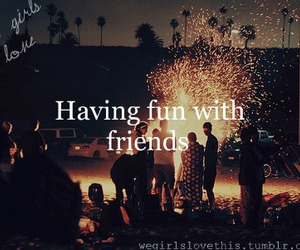 friends, fun, and party image