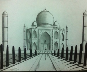 art, draw, and india image