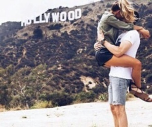 love, hollywood, and couple image