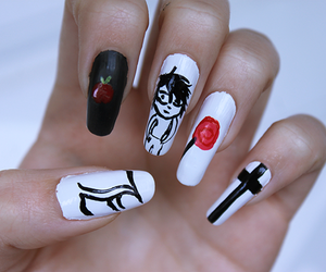 death note and nails image