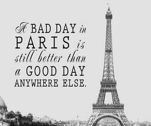 paris, quote, and day image