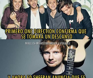 ed sheeran and one direction image