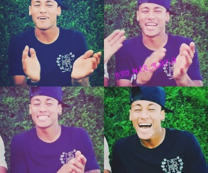 celebrity, smile, and neymar image