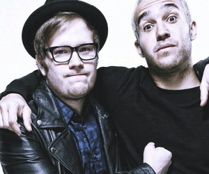 fall out boy, FOB, and glasses image