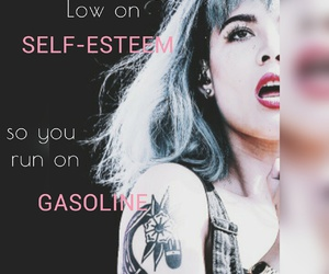badlands, gasoline, and Lyrics image